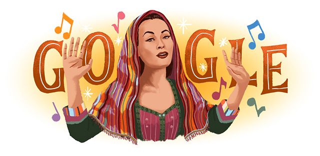 Google Logo Celebrates Yma Sumac, The Exotica Musician & Peruvian ...