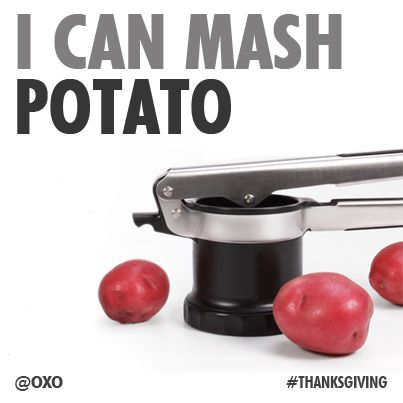 There Are So Many Ways To Mash Potatoes And The OXO 3 In 1. Potato RicerCooking  GadgetsMashed ...