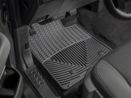 WeatherTech 2000-2005 Toyota Echo Celica/ 2003-2008 Toyota Corolla/ 2000-2004 Toyota Avalon/ 2004-2006 Scion xB xA Front Rubber Floor Mats - Black