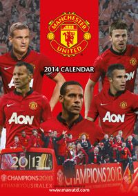 Manchester United FC 2014 Calendar