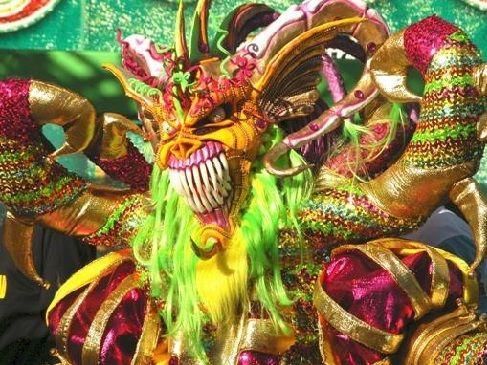 Carnaval de La Vega ( république Domicaine)