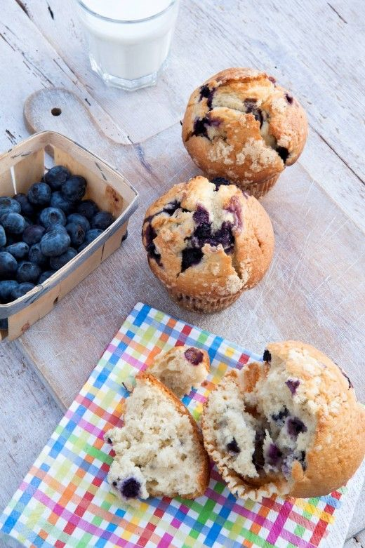 Celebrate with this delicious blueberry muffins recipe!  http://thehappyegg.co.uk/blueberry-muffins/
