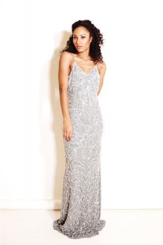 Julia Dress Grey