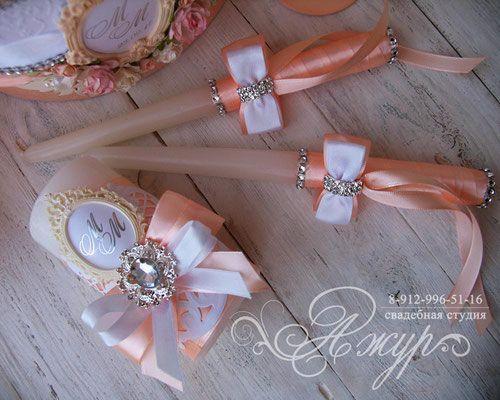 Заказать набор свечей на свадьбу Тюмень