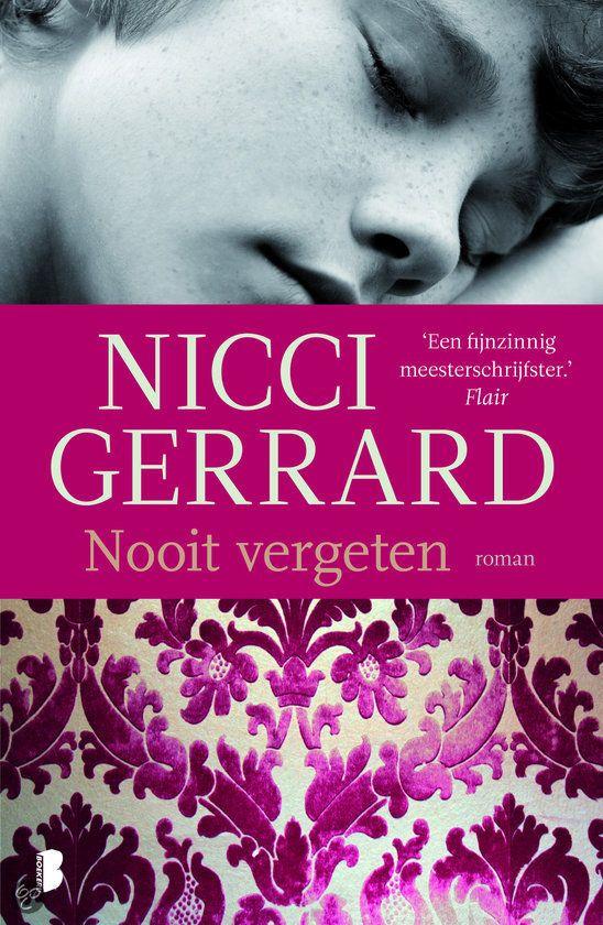 Nooit Vergeten, Nicci Gerrard   Nederlandse boeken