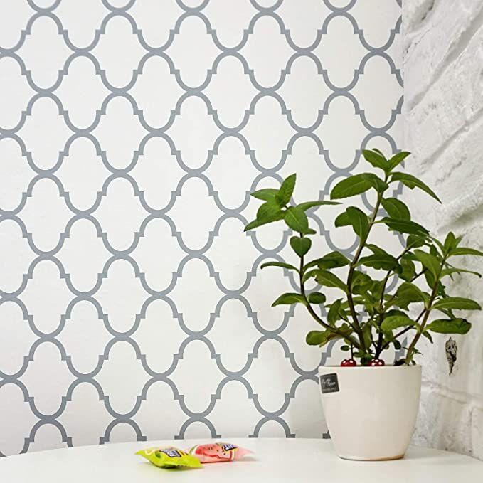 Trellis Removable Wallpaper Trellis Wall Paper Trellis Peel And Stick Wallpaper Self Adhesive Wall Covering Wall Vinyl Decor Trellis Wallpaper Wallpaper Decor