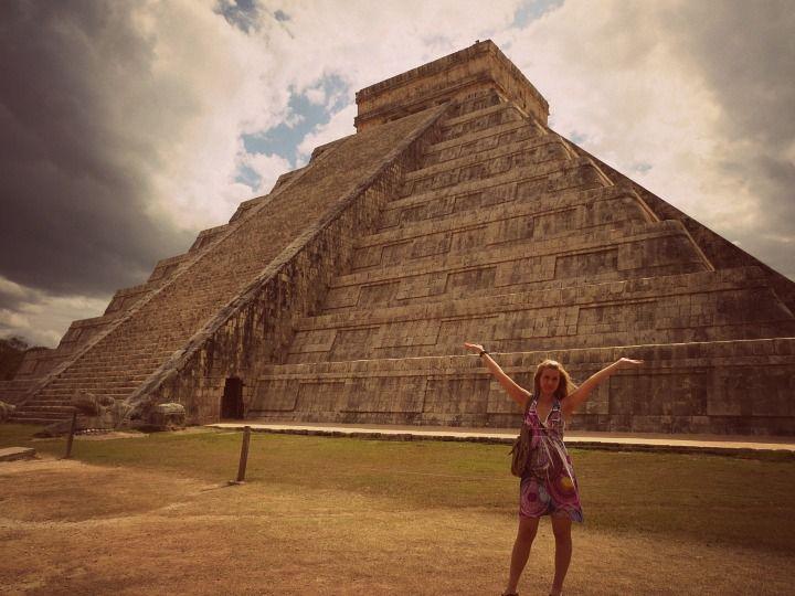 Maya-intiaanien jalanjäljillä Meksikossa. Lue lisää: http://marimente.pallontallaajat.net/2013/02/06/maya-intiaanien-jalanjaljilla/
