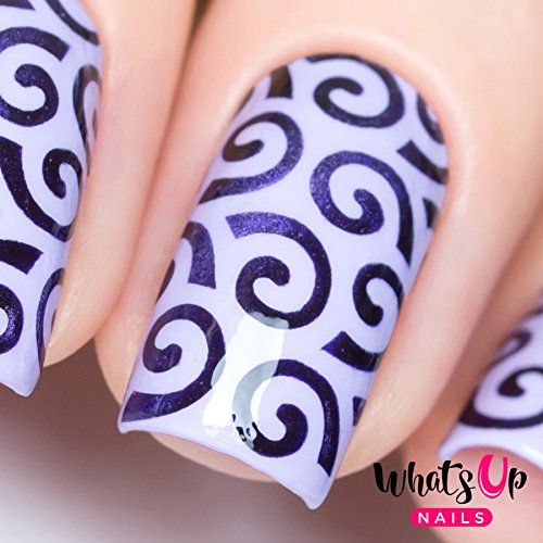 25 beautiful swirl nail art ideas on pinterest beauty tips and whats up nails swirls pattern nail stencils stickers vinyls for nail art design sheet 12 stencils prinsesfo Choice Image