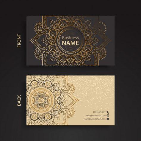 carto de visita estilo tnico graphic design layoutsbrochure designbusiness - Graphic Design Business Name Ideas