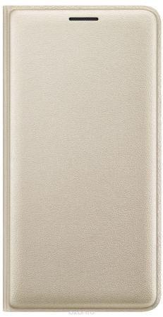 Samsung EF-WJ320 FlipWallet чехол для Galaxy J3 (2016), Gold  — 1079 руб. —  Чехол-книжка Samsung Flip Wallet подходит для модели смартфона Samsung Galaxy J3 (2016). В отличие от простых накладок он защищает не только боковые грани и заднюю стенку смартфона, но и экран от пыли, царапин и потертостей. Он выполнен из полиуретана и плотно прилегает к корпусу девайса. Изящный чехол в минималистичном стиле станет отличным подарком для практичных людей. В специальном кармашке внутри чехла можно…