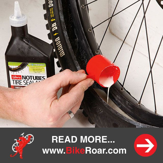 "Are you ready to ""go tubeless"" and should you?  Going Tubeless on your MTB? What you need to consider.   LEARN MORE: http://www.bikeroar.com/tips/going-tubeless-on-your-mtb-what-you-need-to-consider?utm_content=buffer9c220&utm_medium=social&utm_source=pinterest.com&utm_campaign=buffer #tubeless #tires #mountainbike #mtb #sealant #stansnotubes #ghettotubeless"