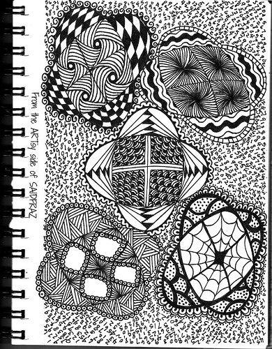 zentangle | Sherri Frazier | Flickr