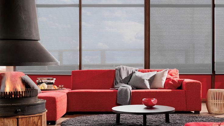 Luxaflex® raamdecoratie. Facette® Shades - 7 mm Verkrijgbaar bij Thuisin