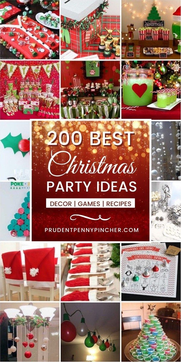 2020 Best Christmas Party Ideas 200 Best Christmas Party Ideas in 2020   Christmas fun, Silver