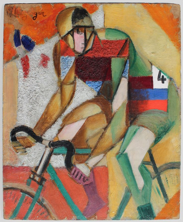 Jean Metzinger - The Bicyclist