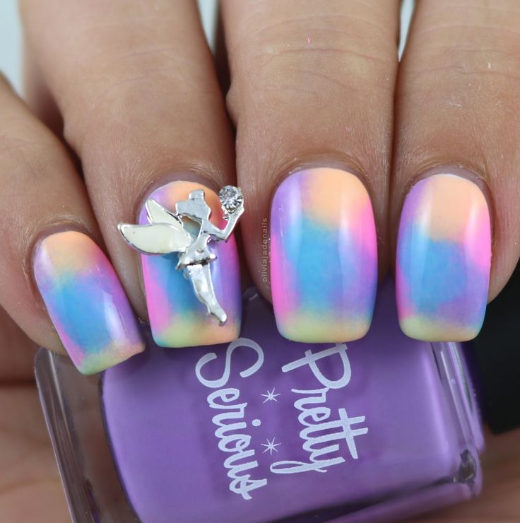 26 Great Nail Art Ideas Challenge - Embellished/3D by Olivia Jade Nails