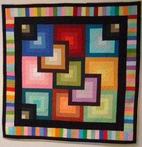 IMPRESIONANTE (y gratis) quilt pattern PDF de la Estrella Quilt Company Missouri con Sólidos Kona.