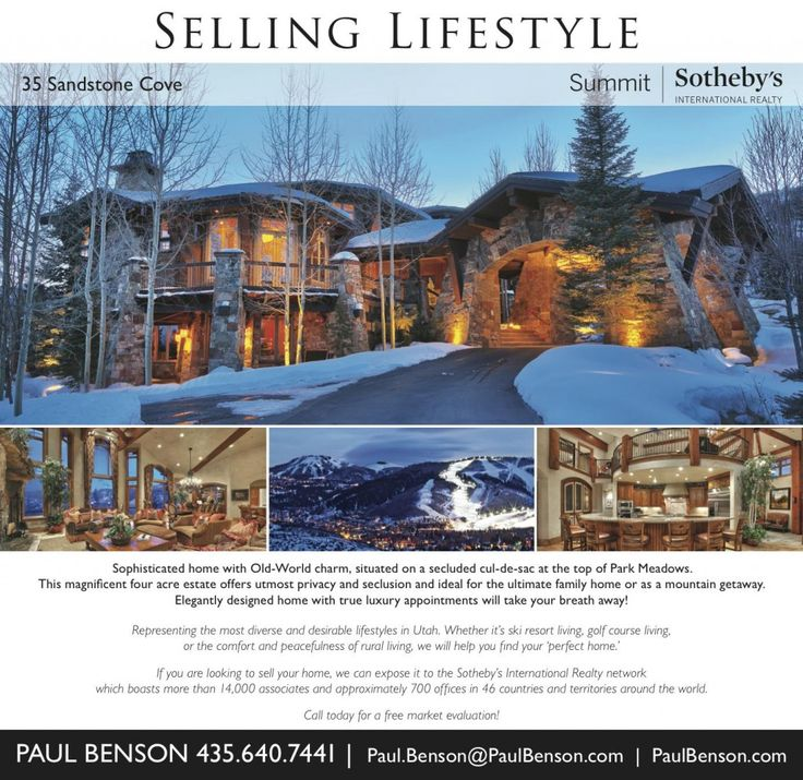 Looking To Buy A Home In The Heart Of Park City This Sophisticated Meadows With Old World Charm Is Must See Visit Our Website At