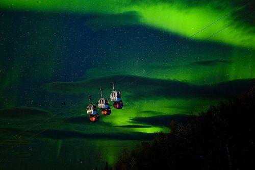 Aurora in Narvikfjellet