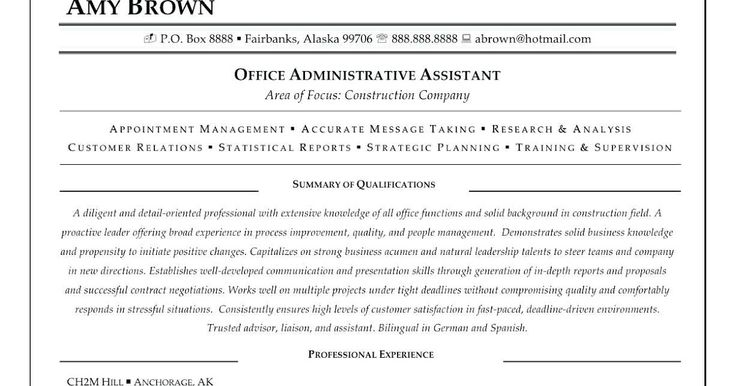 Personal assistant resume samples personal assistant