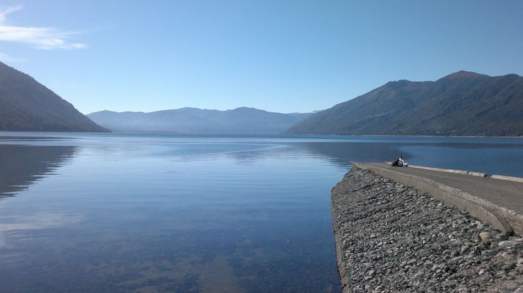 Lago Caburga, IX Región, Chile