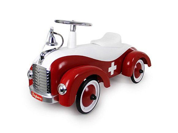 """Since 1999 the French company, """"Baghera"""" slide and pedal cars for kids, manufactured with a charming bit of vintage"""