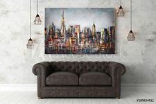 his industrial looking wall art will look great against a leather couch. Its a one panel canvas print art work. you can get it as big as you like. I do have some sizes for you to choose from. Rustic looking Modern home decor wall art large print living room industrial art work #nuurdesignsart