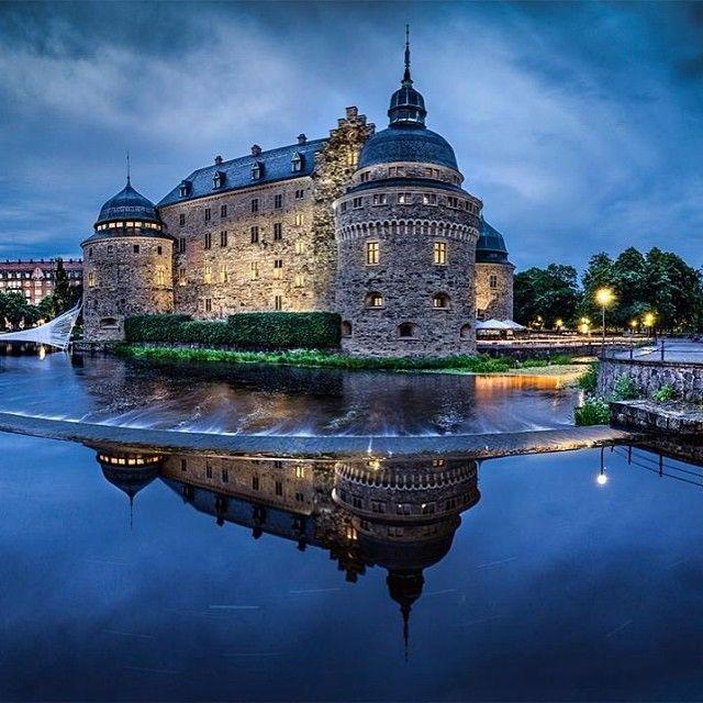 orebro castle, sweden