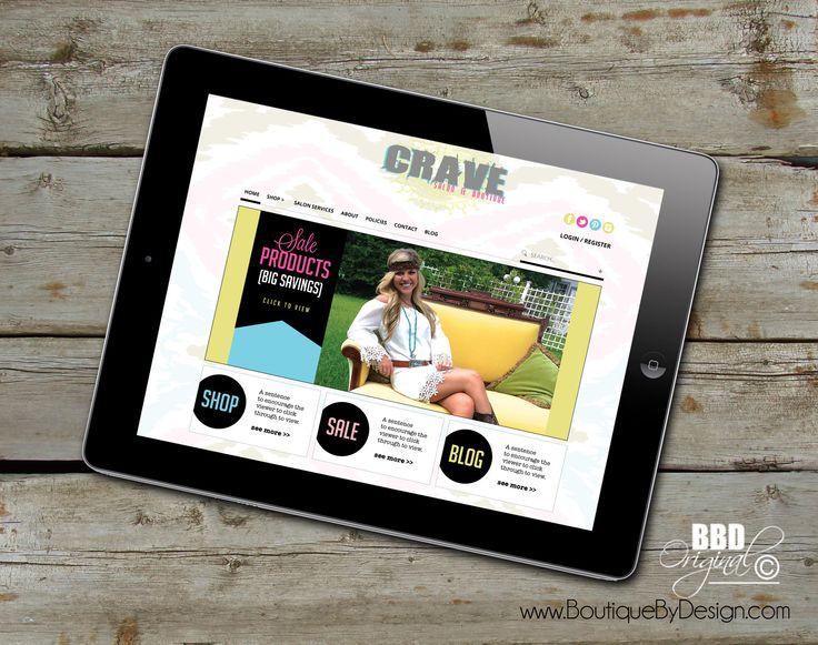 Website Responsive Design #BoutiqueByDesign boutiquebydesign.com