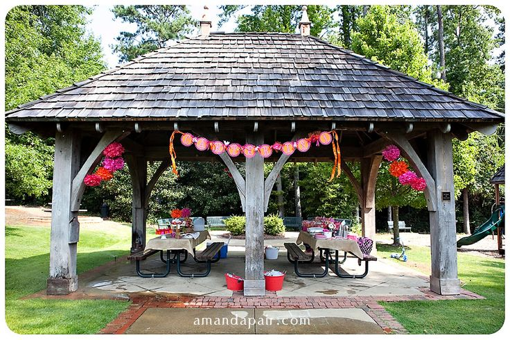 Outdoor Party Decorations | carter's first birthday party | the details » Amanda Pair ...