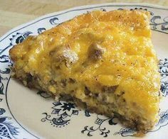 Fast Food Friday | White Castle Cheeseburger Pie... this is the topping I'm using on my Chile Rellanos Casserole, too.