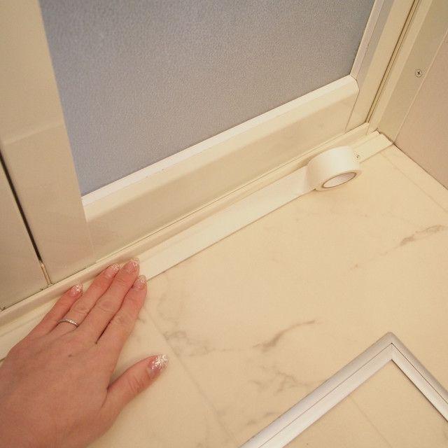 マステで掃除 お風呂 洗面所の掃除を楽にする裏ワザ4つ 掃除 お掃除の裏技 風呂