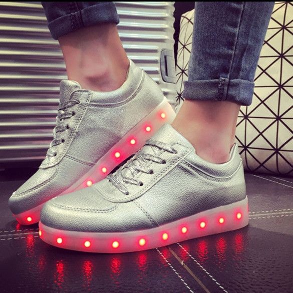 Low Top Light Up Sneakers – Outfit Made