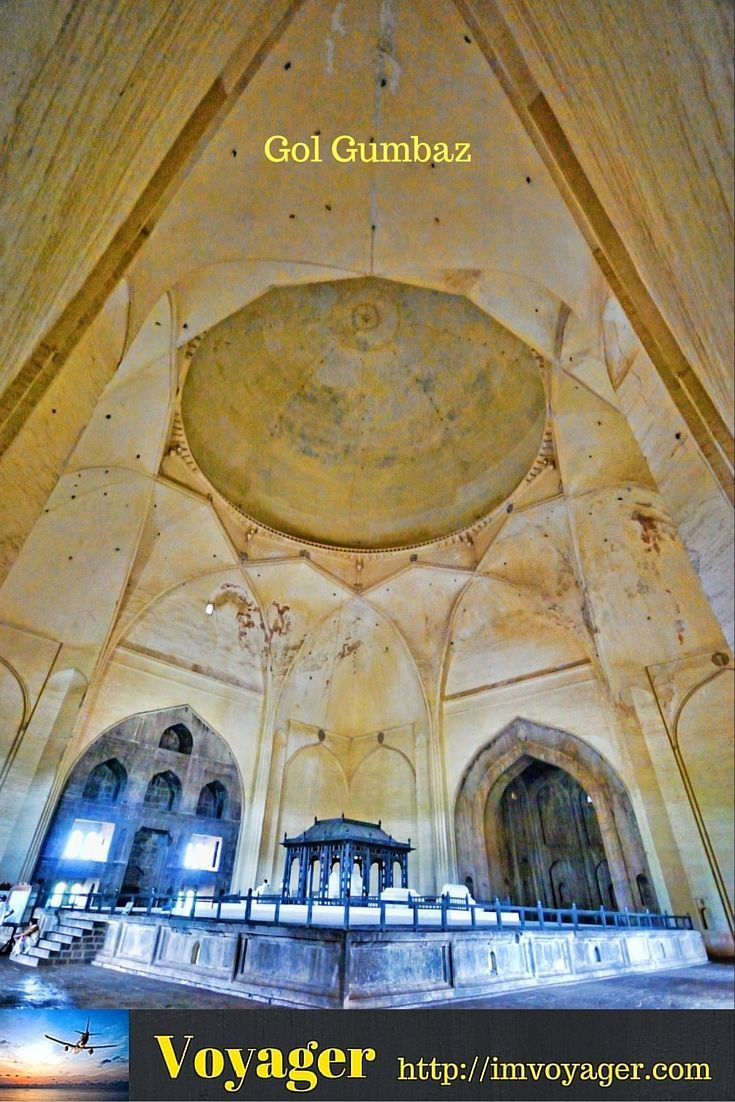 The Mystery of the Whispering Gallery of Gol Gumbaz (scheduled via http://www.tailwindapp.com?utm_source=pinterest&utm_medium=twpin&utm_content=post85782129&utm_campaign=scheduler_attribution)