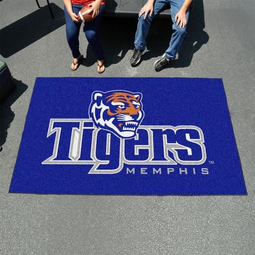 University of Memphis Tigers 5' x 8' Tailgating Area Rug