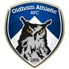 Our favourite football club, Oldham Athletic AFC. This menacing owl divides opinion. Is it threatening, or a look of steely determination?