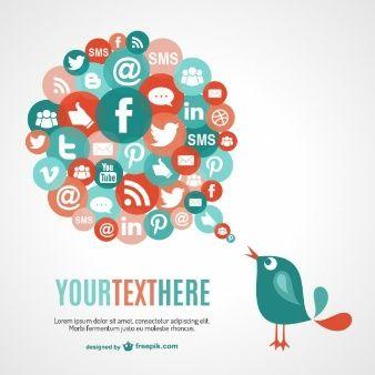 Social network communication vector