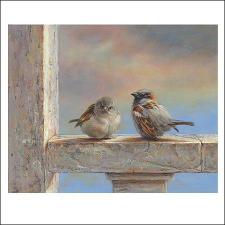 Sparrows | Erik van Ommen - Art Revisited