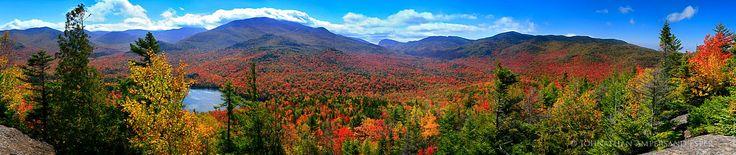 Mt. Jo, High Peaks, Adirondack Mountains, Heart Lake, Lake Placid, Adirondacks, Mt Jo, view, autumn, 2008, panorama,fall