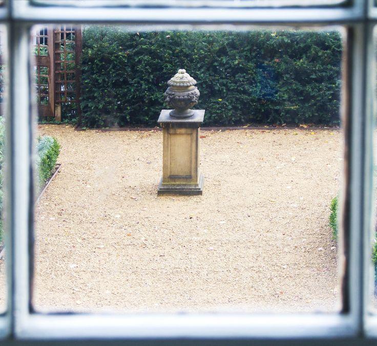 A view into the Georgian garden  © Eve Andreski