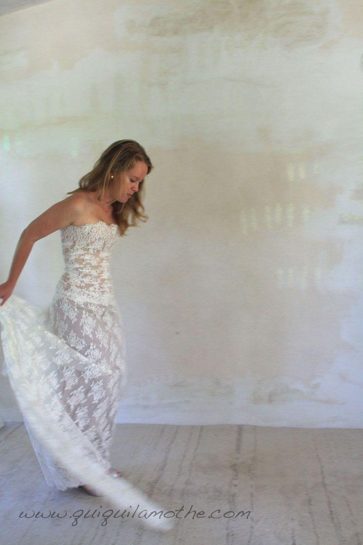 robe de mari e transformable glamour fluide robes de mari es volutives convertible wedding. Black Bedroom Furniture Sets. Home Design Ideas