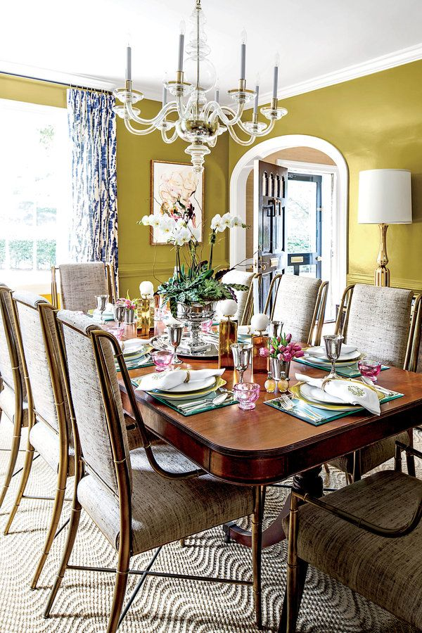 Best Dining Rooms Images On Pinterest Southern Living