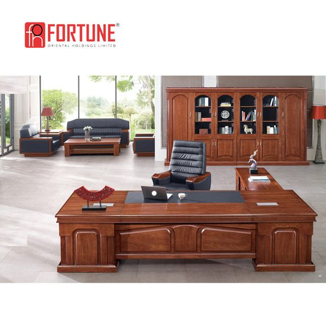 Source Modern Wooden Office Table Design Ceo Desk Made In China