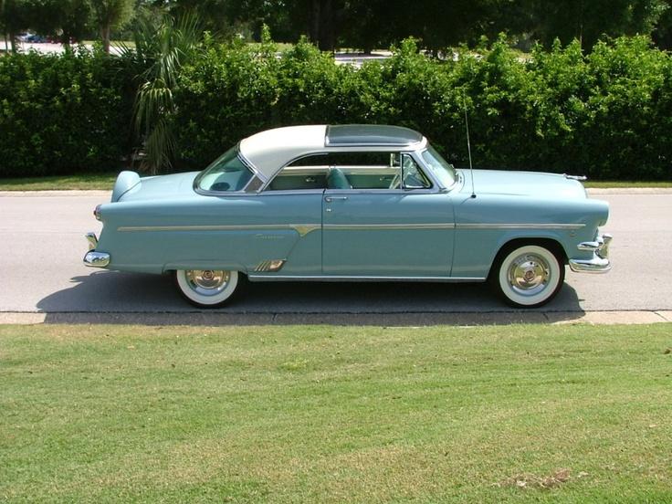 1954 Ford Plexiglas Roof.