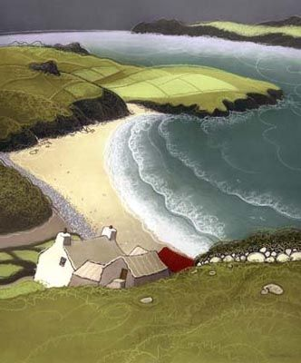 """Chris Neale - """"PORTHMAWR Wales"""" (reminds me of the movie Atonement)"""