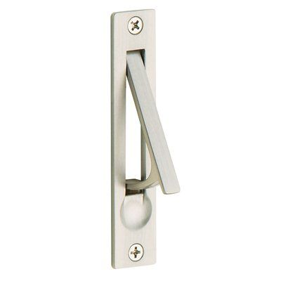 Baldwin Hardware 0465 Solid Brass Edge Pull Pocket Door Hardware - Knobs and Hardware
