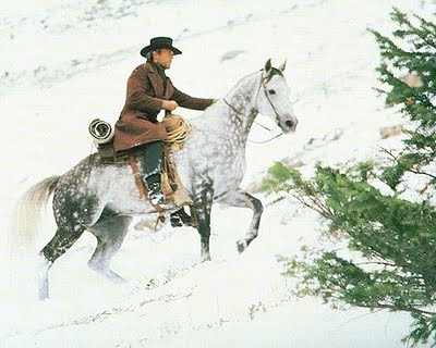 """""""Pale Rider"""" The most beautiful horse and great movie."""