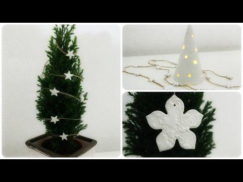 Weihnachtliche Ornamente mit Modelliermasse * DIY * Christmas Ornaments [eng sub] - YouTube