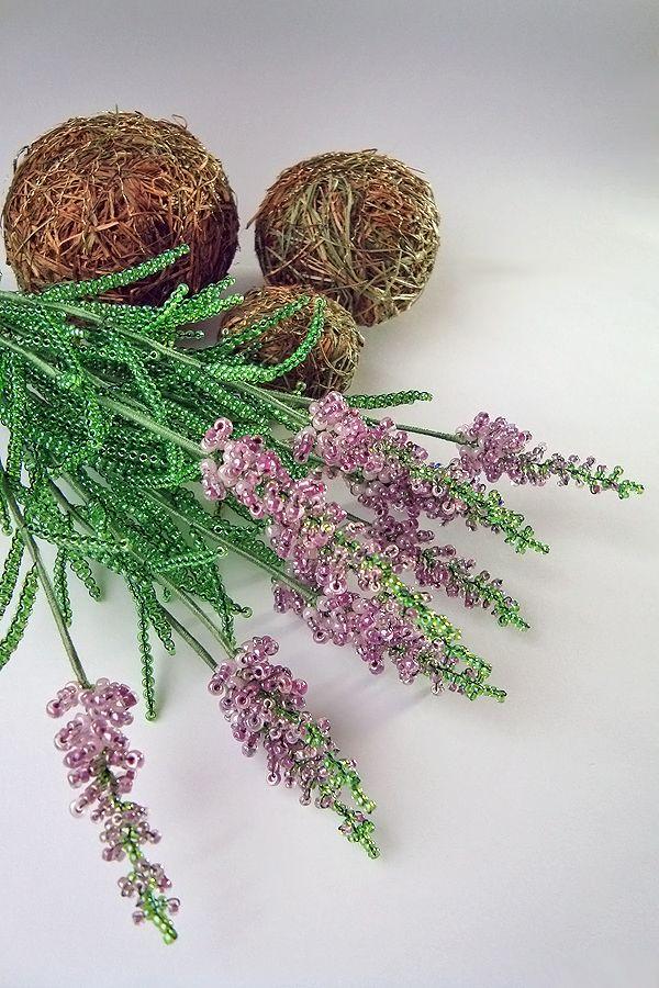 Lavender beaded