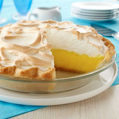 Creamy Lemon Meringue Pie | Land O'Lakes